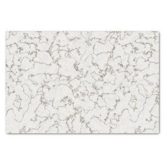 Weißes Marmorseidenpapier Seidenpapier