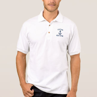 Weißes Polo-Shirt kundenspezifischen Poloshirt
