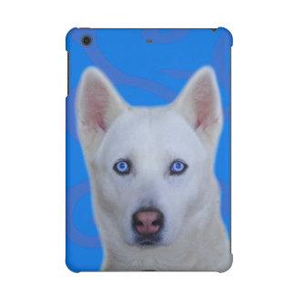 Weißes sibirischer Husky iPad Fall Mini2 u. 3