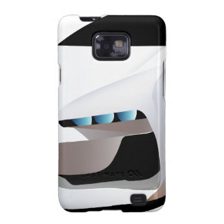 Weißes Sportwagenpng Galaxy S2 Cover