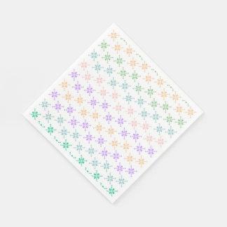 Weißes Standardmittagessen-Papierservietten Serviette