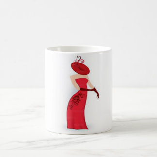 weißes Tassen-Gewohnheitsbild des Klassikers 11oz Kaffeetasse