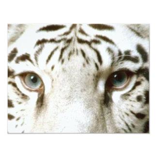 Weißes Tiger Feng Shui Einladung ~ EZ2 fertigen