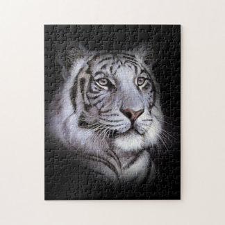 Weißes Tiger-Gesicht