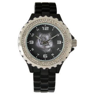 Weißes Tiger-Gesicht Armbanduhr