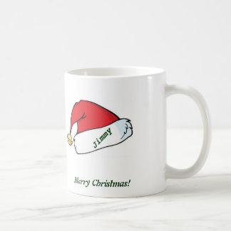 Weißes WeihnachtsTasse Kaffeetasse