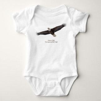Weißkopfseeadler-Ansteigen Baby Strampler