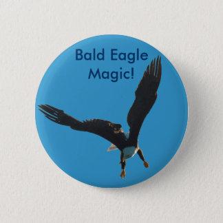 Weißkopfseeadler-Flug-Sammlung Runder Button 5,1 Cm