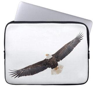 Weißkopfseeadler im Flug Laptop Sleeve