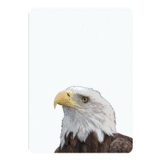 Weißkopfseeadler-Porträt Karte