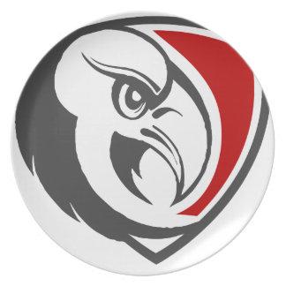 Weißkopfseeadler-Stolz Essteller