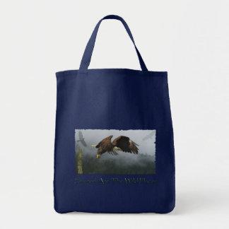 Weißkopfseeadler-wild lebende Tiere Birdlover Tragetasche