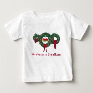 Weißrussland-Weihnachten 2 Baby T-shirt