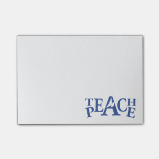 Weißtaube unterrichten Frieden grafische Post-it Haftnotiz