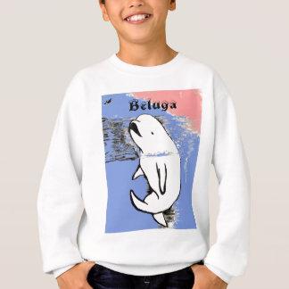 Weißwal-Wal Sweatshirt