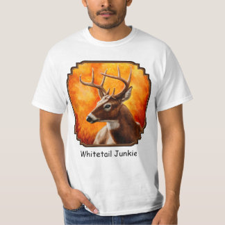 Weißwedelhirsch-Dollar-Jagd T-Shirt