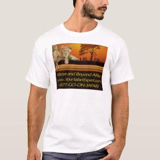 Weit über HELLFARBIGEM T - Shirt Afrikas