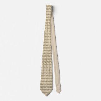 Weizen gefüllte Traktor-Krawatte Bedruckte Krawatte
