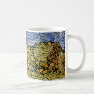 Weizen-Stapel Van- Goghfeld-w, Vintage feine Kunst Kaffeetasse
