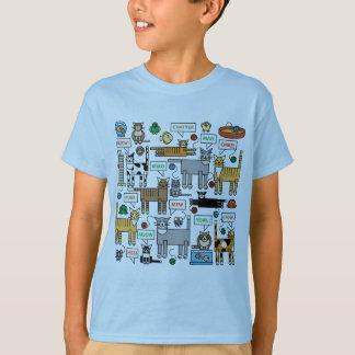 Welche Katzen sagen T-Shirt