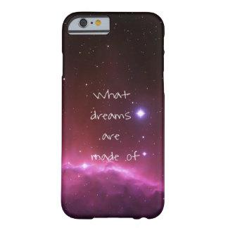 """""""Welche Träume"""" vom nächtlichen Himmel gemacht Barely There iPhone 6 Hülle"""