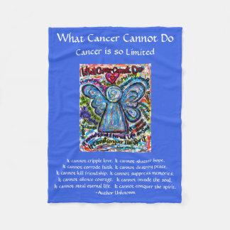 Welcher Krebs Engel Chemo Gewohnheits-Decke nicht Fleecedecke