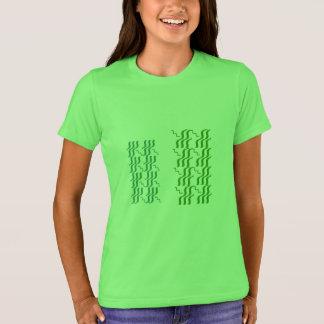 WELLEN-JUWEL-MUSTER-DRUCK T-Shirt