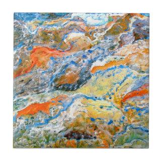 Wellen Kleine Quadratische Fliese
