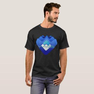Wellen TideMaster Vorlage T-Shirt