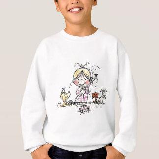 Wellenartig bewegen des Mädchen-FL-001 Sweatshirt