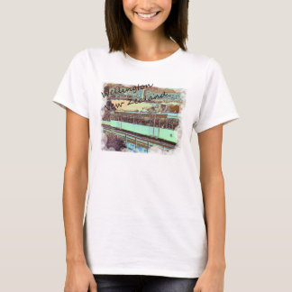 Wellinton Drahtseilbahnt-shirt T-Shirt