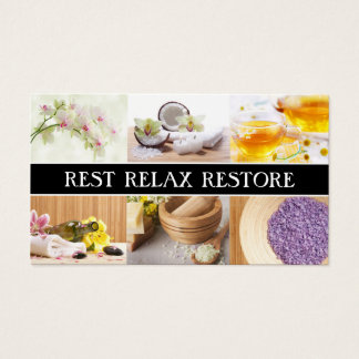 Wellness-Center u. Entspannungs-MittelErholung Visitenkarte