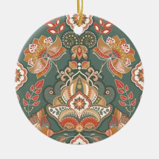 Wellness-Mandalas boho Keramik Ornament