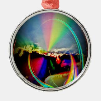 Wellness Silbernes Ornament