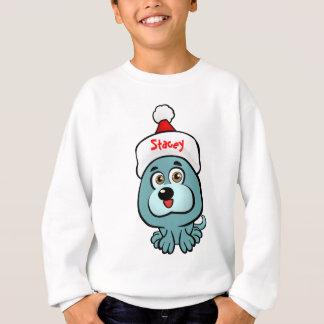 Welpe Weihnachtsmann Sweatshirt