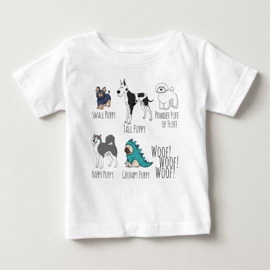Welpen-Gedicht Baby T-shirt