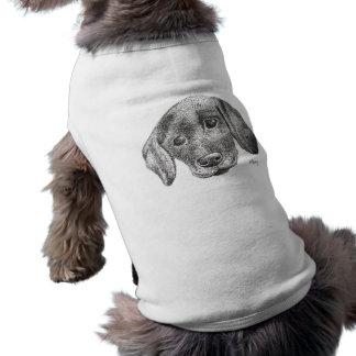 Welpen-Kunst-Hundejacke Shirt
