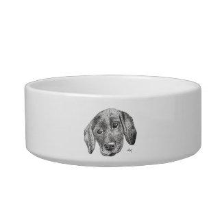 Welpen-Kunst-Hundeschüssel Napf