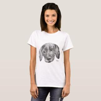 Welpen-Kunst-T - Shirt