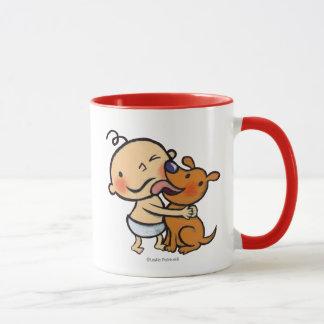 Welpen-Küsse für das Baby Tasse