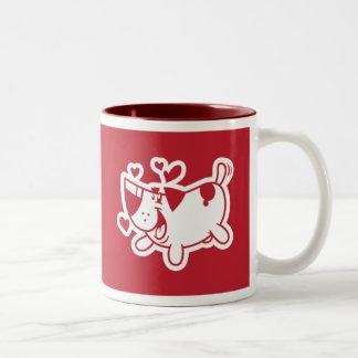 Welpen-Liebe (Hochzeits-Geschenk) Kaffeetassen
