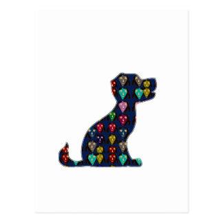 WELPEN-LIEBE-Hundehaustiertier NVN96 NavinJOSHI Postkarte