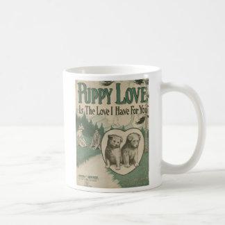 Welpen-Liebe Kaffeetasse