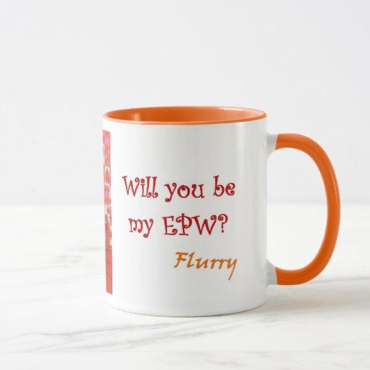 Welpen-Liebe-Tasse das EPW der Aufregung Tasse