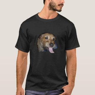 Welpen-Liebe und Lose Zunge-Dunkelheits-Shirts T-Shirt