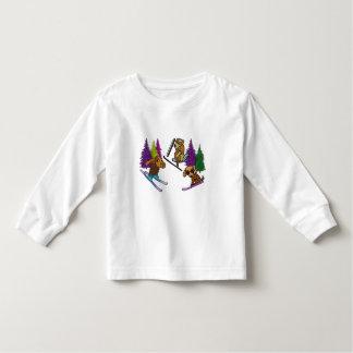 Welpen-Ski-Ferien Kleinkind T-shirt