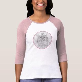 Welpen-Skizze-Porträt-T - Shirt