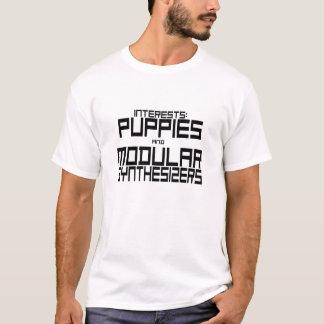Welpen und modulare synthesizer T-Shirt