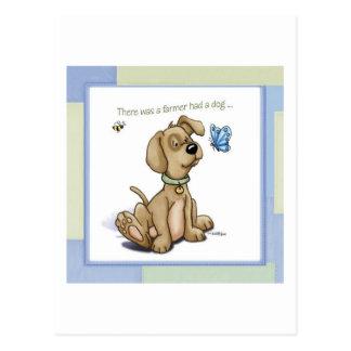 Welpen-Zeit - BINGO Hund Postkarten