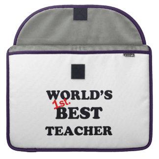 Welt 1. Bester Lehrer MacBook Pro Sleeve